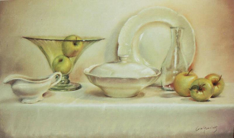 Bodegon con manzanas - caroguarinos.com