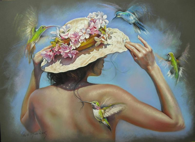 Colibries en tu jardin - caroguarinos.com
